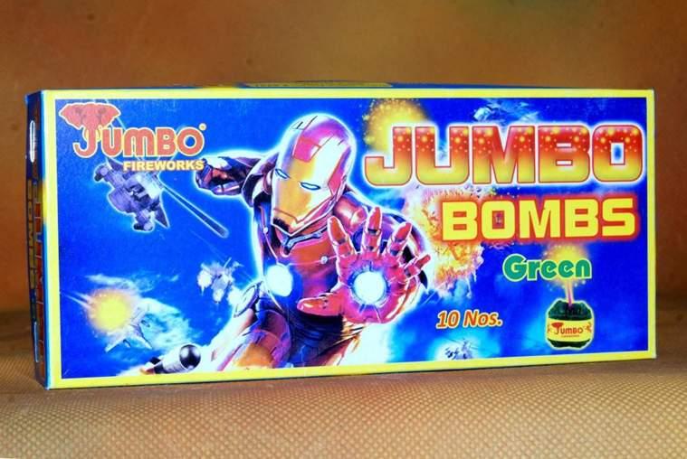 Atom Green Jumbo