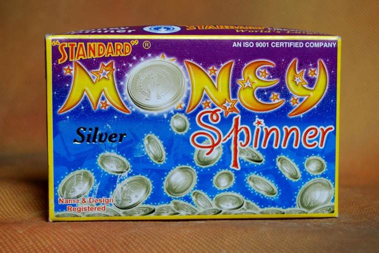 FNCY Money Spinner Silver Standard