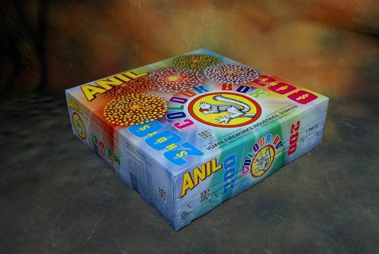 FSHOT 200 Colour Box Anil