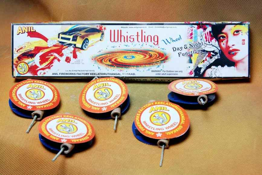 GC Whistling Wheel Anil