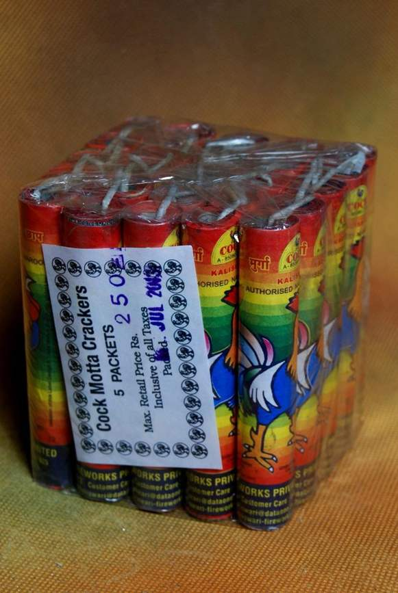 Cracker Cock Mota Kaliswari