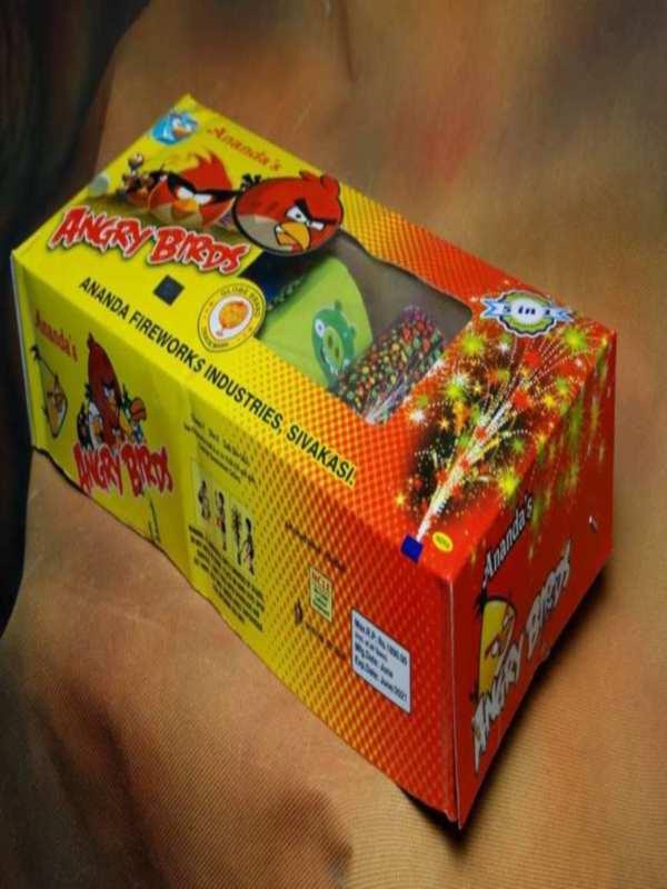 FNCY Angry Birds 5 In 1 Ajanta