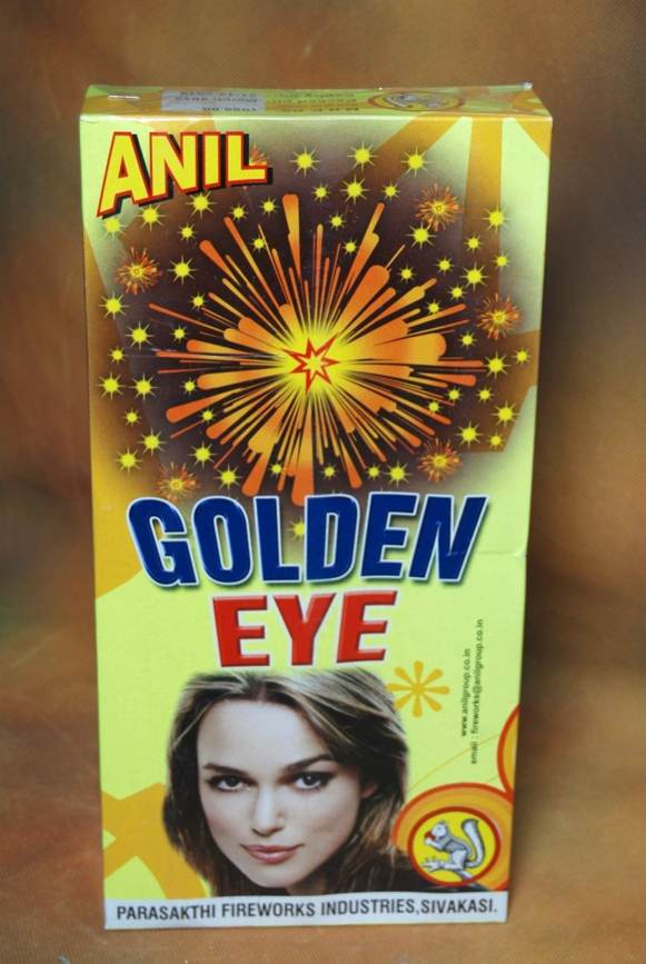 FNCY Golden Eye 3 pc Anil