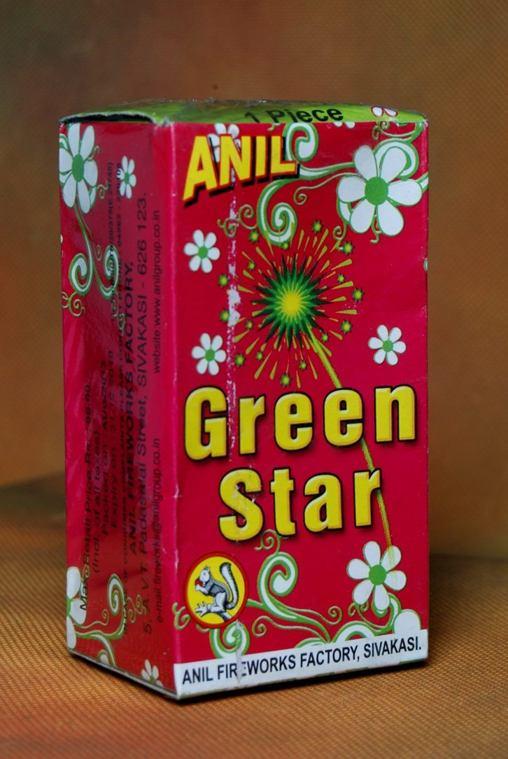 FNCY Green Star 1 Pc Anil
