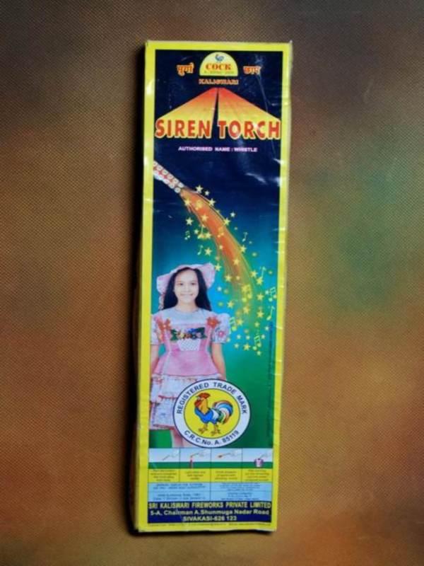 Candel Siren Torch 5 Pc Kaliswari