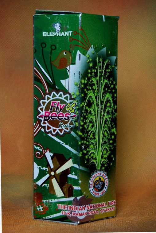 FP Fncy Fly Bees Green Indian