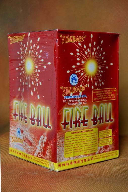 FSHOT 12 Fire Balls Standard
