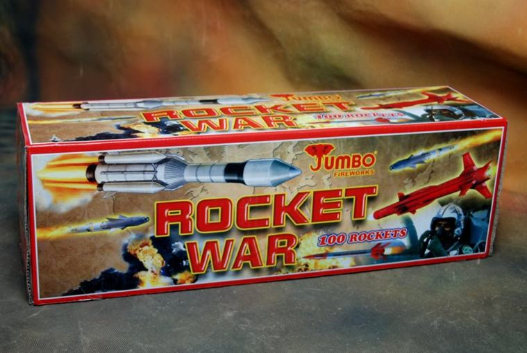 FSHOT 100 Rocket War Jumbo 1 Pc