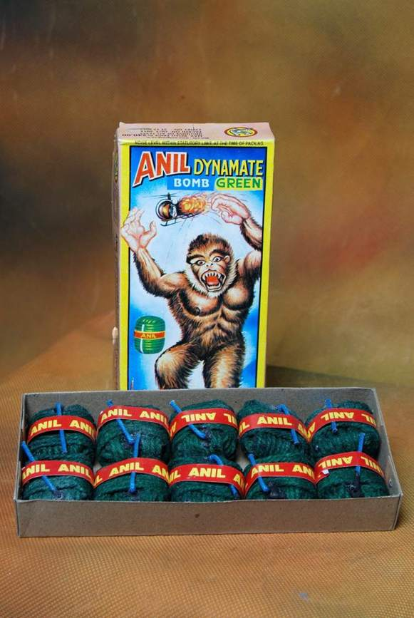 Atom Dynamite Green Anil 10 Pc