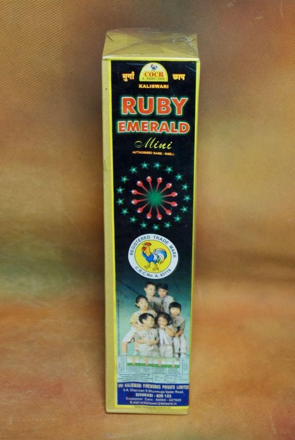 FNCY Ruby Emerald Mini Kaliswari 1 Pc