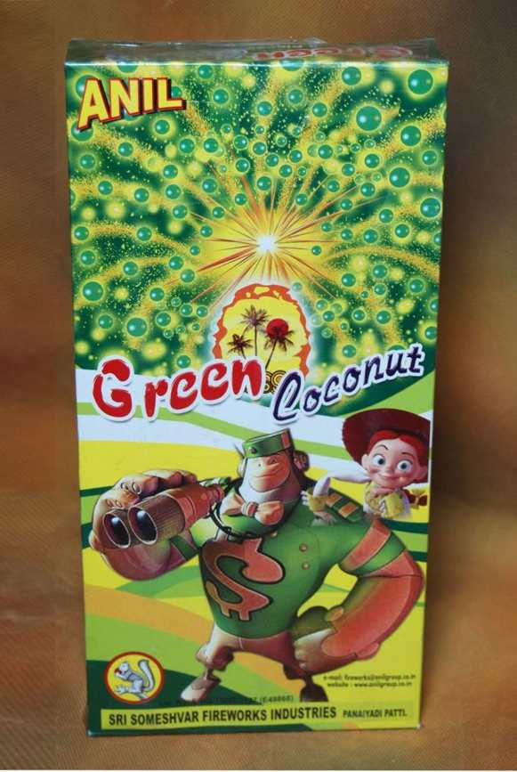 FNCY Green Coconut 3 pc Anil
