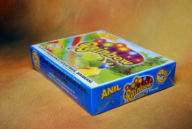 FSHOT Rainbow 5 Pc Anil