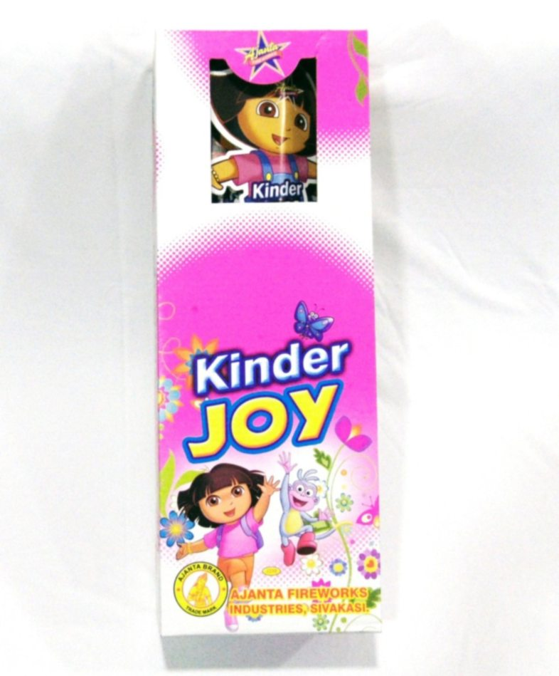 Candel New Kinder Joy Crackling 5 Pc Ajanta