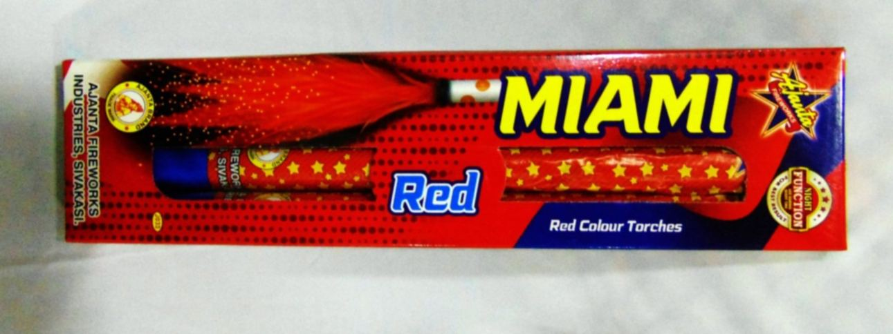Candel Miami Red 2 Pc Ajanta