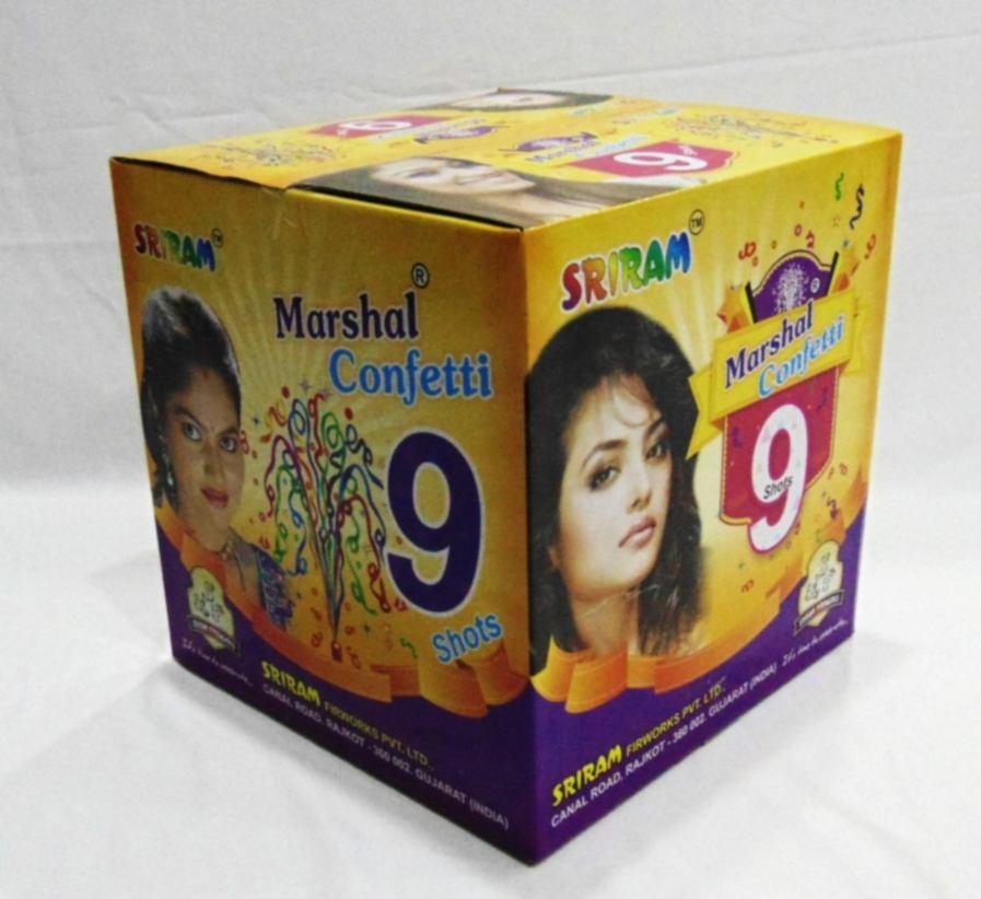 Fancy Swagat Multi 9 shot Shri Ram 1 Pc