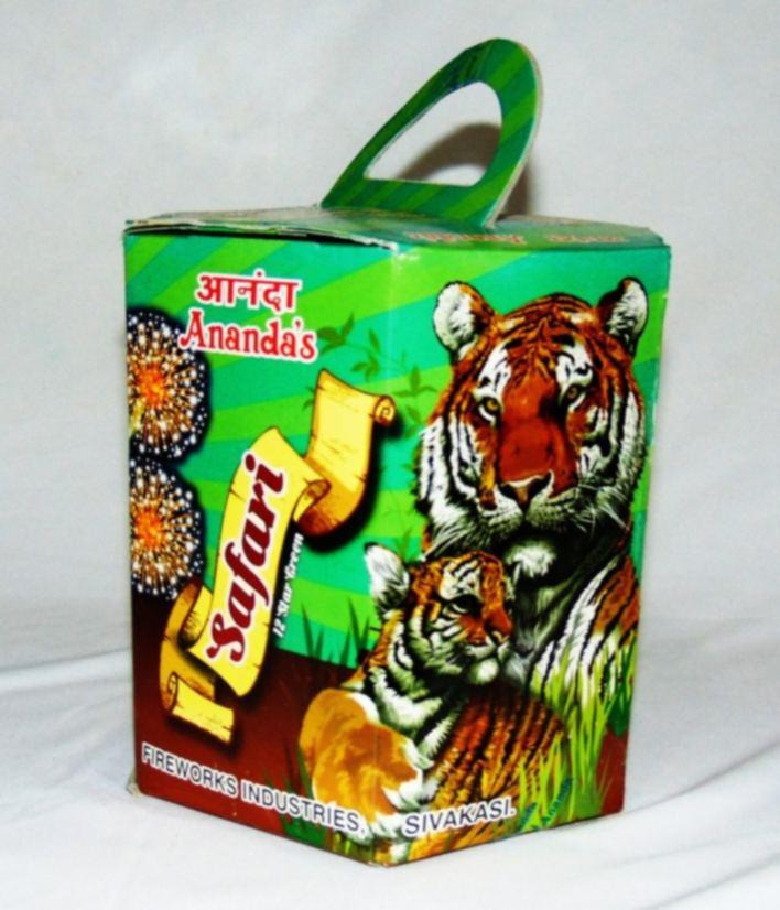 Fshot 12 Safari Green Crackling Ananda 1 Pc