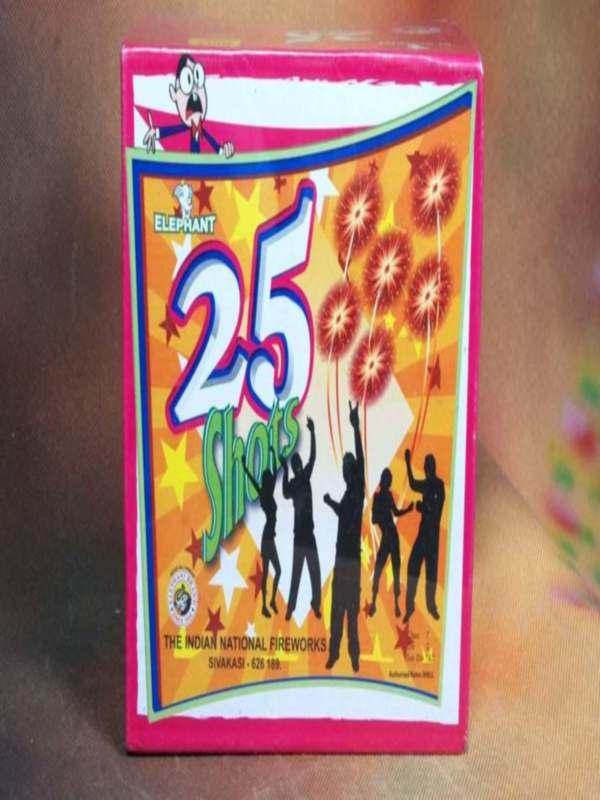 FSHOT Crackling 25 Colour Indian