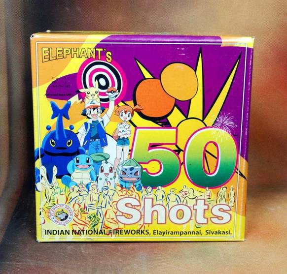 FSHOT Crackling 50 Colour Indian