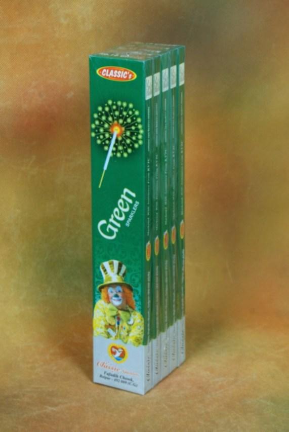 SPKL No 15 Green Cla 5 Box