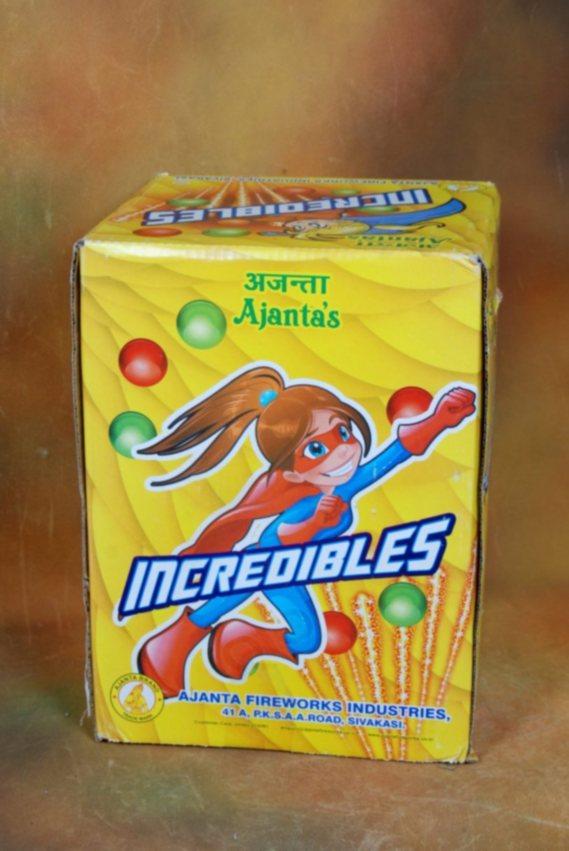 Fshot 16/2:5 Incredibles Ajanta