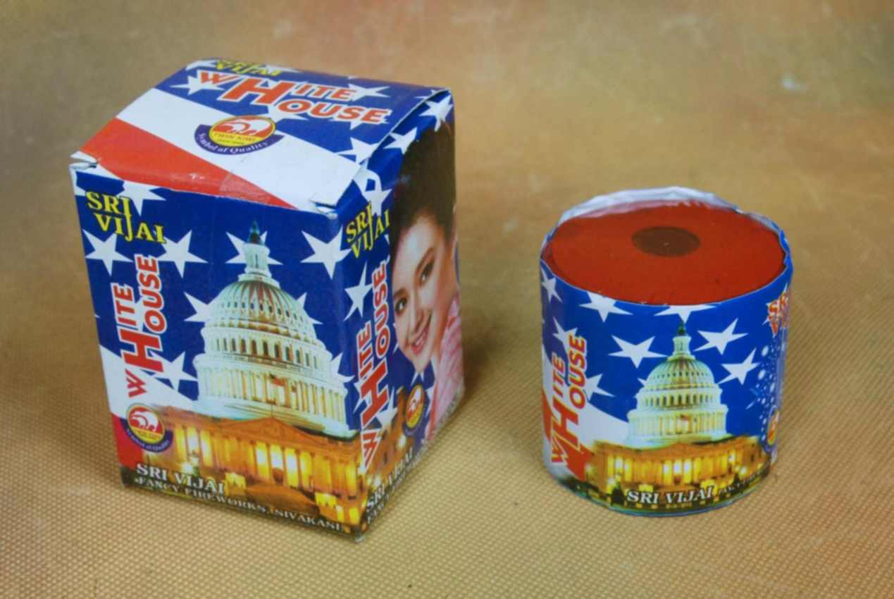 Fancy Crackling White House Vijai 1 Pc