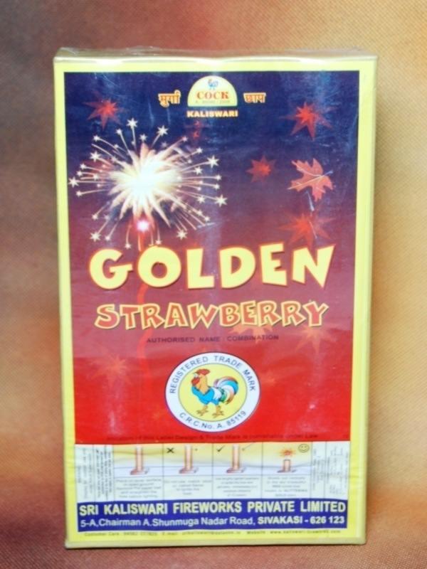 FNCY Golden Strawberry Kaliswari 3 Pc