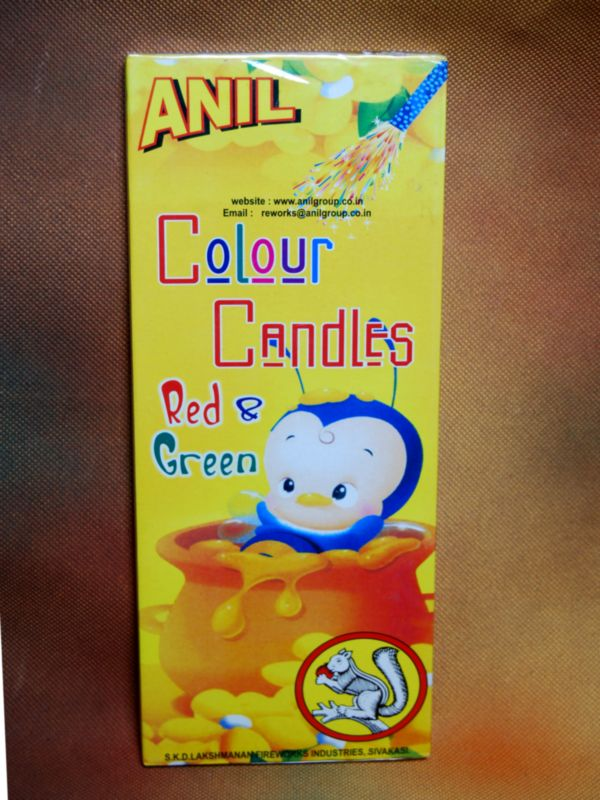 Candel Colour Anil 10 Pc